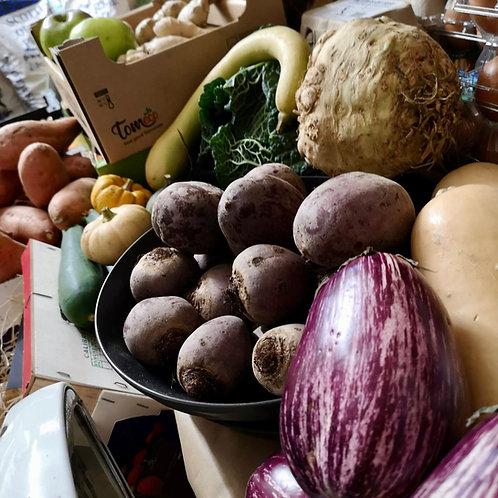 Organic fruit and veg box