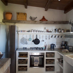 Cortijo El Aguilon, Luxury Villa Tarifa: The Garden Suite Kitchen
