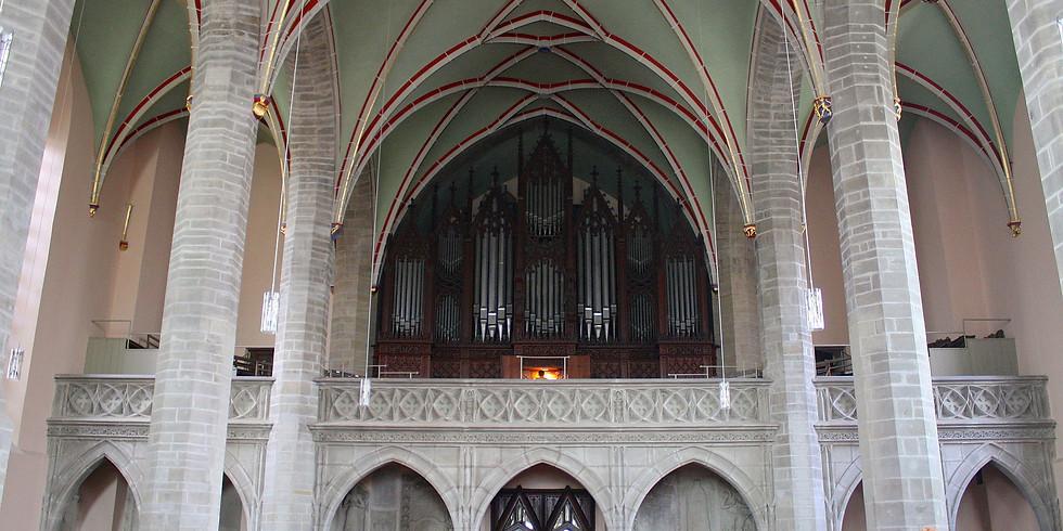 Köthen (D): Orgelmusik zur Marktzeit in der St. Jakobi-Kirche auf der Ladegast-Orgel von 1872