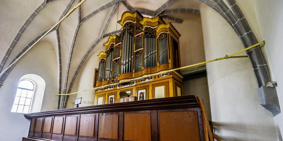 Saschiz/Keisd (RO): Musikalische Vesper auf der Prause-Orgel von 1786
