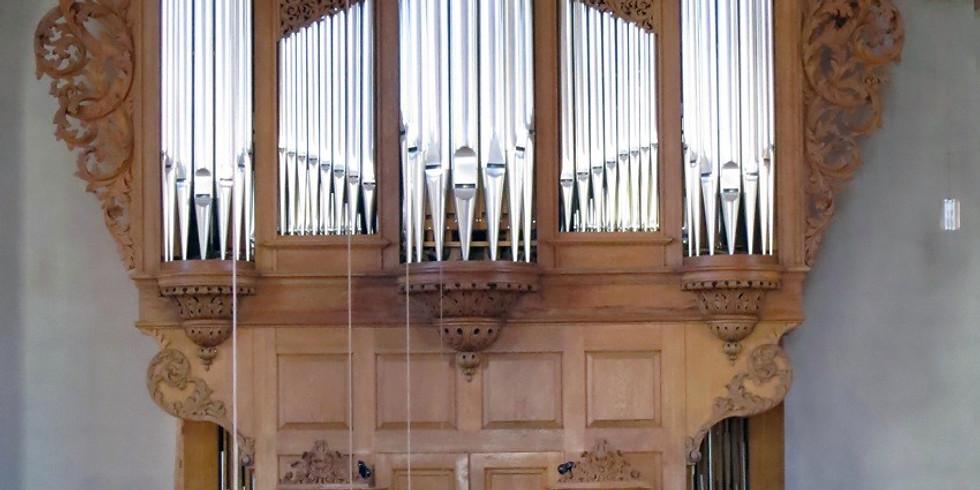 Basel (CH): Orgelspiel zum Feierabend Kirche St. Leonhard