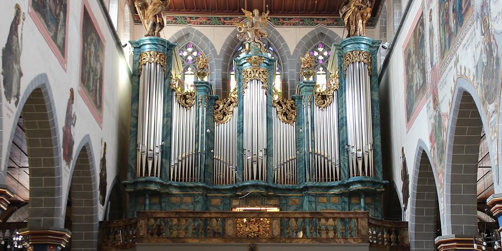 Konstanz (D): 20 Jahre Heintz-Orgel St. Stephan Konstanz
