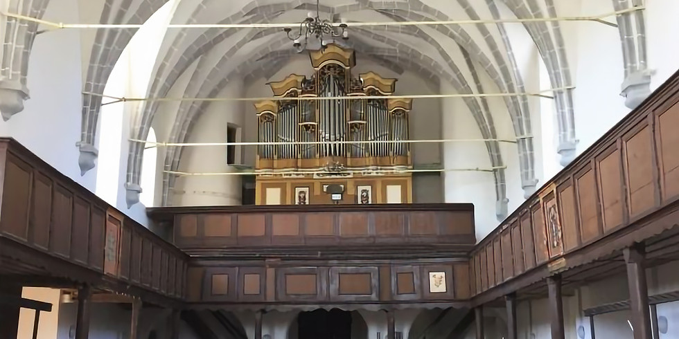 Keisd/Saschiz (RO): abgesagt! Orgelkonzert auf der Prause-Orgel von 1786