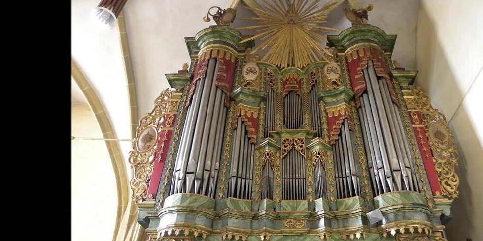 Mediasch (Ro): abgesagt! Orgelkonzert auf der Hahn-Orgel von 1755