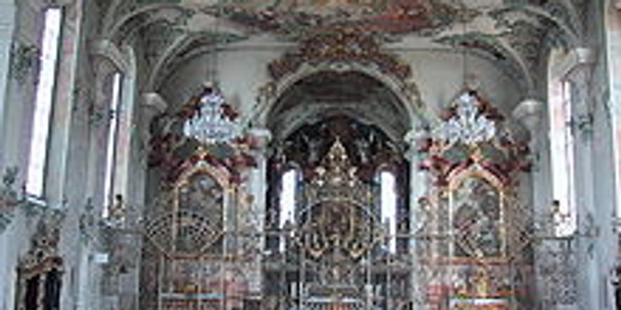 Kreuzlingen (CH): Klosterkirche St. Ulrich
