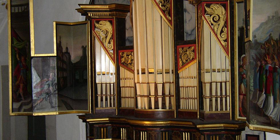 Schmalkalden (D): Schlosskapelle Orgelkonzert auf der Meyerorgel von 1578