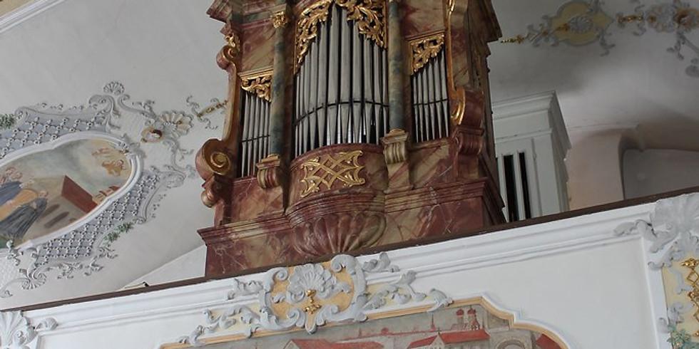 Kaufbeuren (D): Geburtstagskonzert 250 Jahre Cronthaler-Orgel