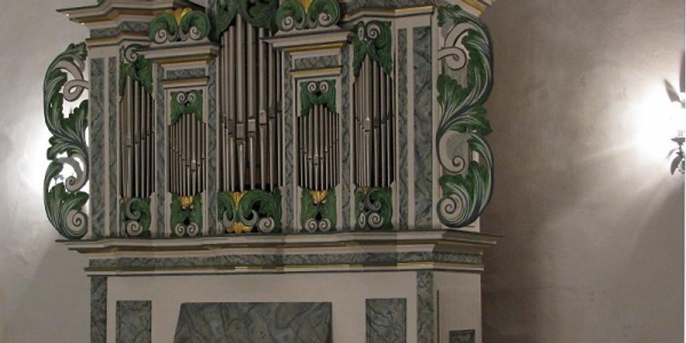 Köthen (D): Schlosskapelle: Orgelkonzert zu Ehren von J.S.Bach auf der Zuberbier-Orgel von 1754