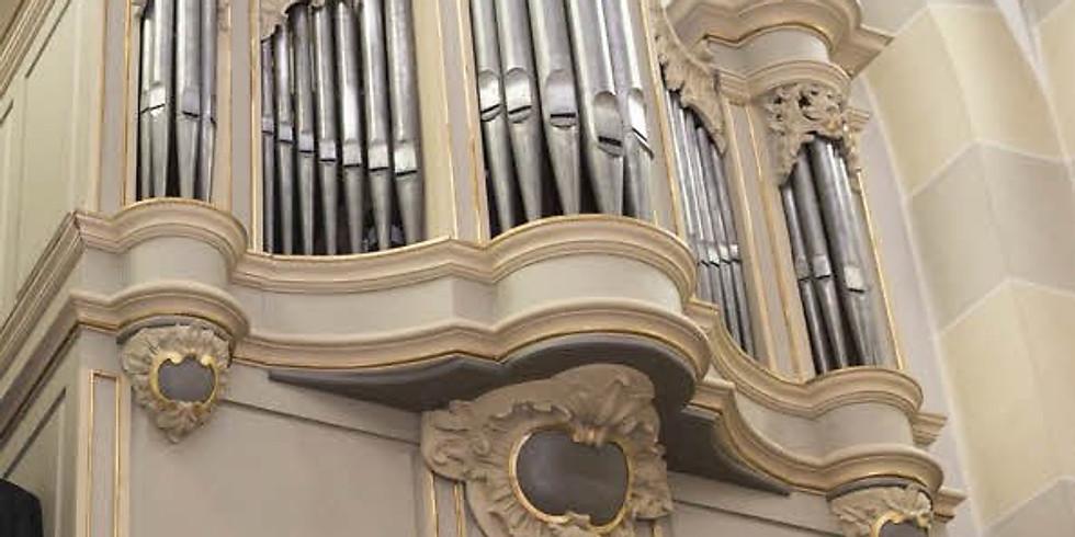 Swisttal-Ollheim (D): Konzert auf der Königorgel von 1768 mit Ingrid Paul Blockflöte