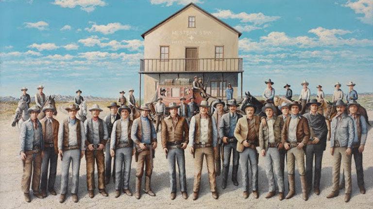'Western Star' Cowboy Puzzle