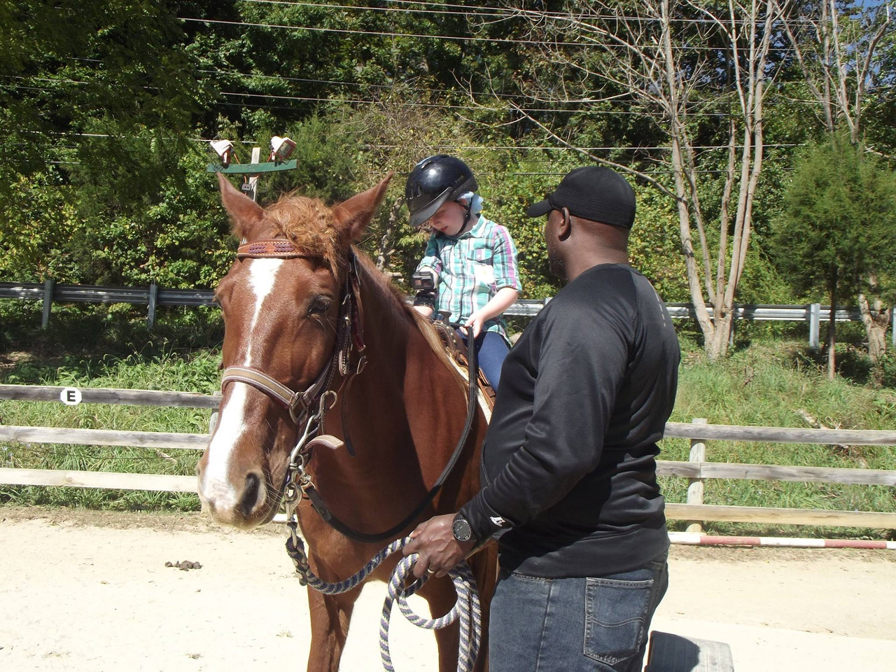 Baltimore's Horseback Riding Program