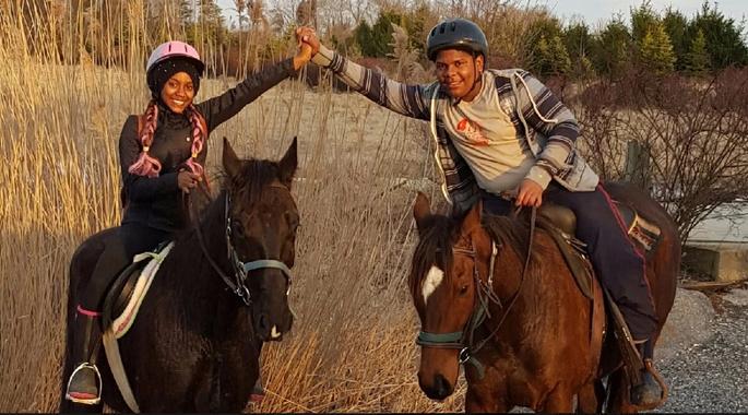 Baltimore's Horseback Riding Program
