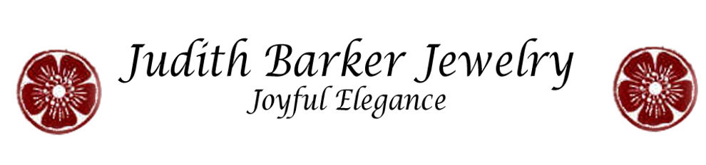 judith barker gold and silver jewelry handmade in Maine.