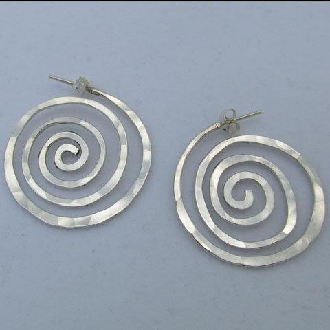 D75 Round hoop swirl