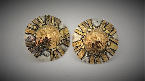C-17 Sun Energy post earrings