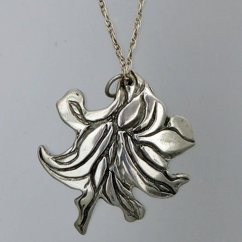 nc-d113 lily flower necklace