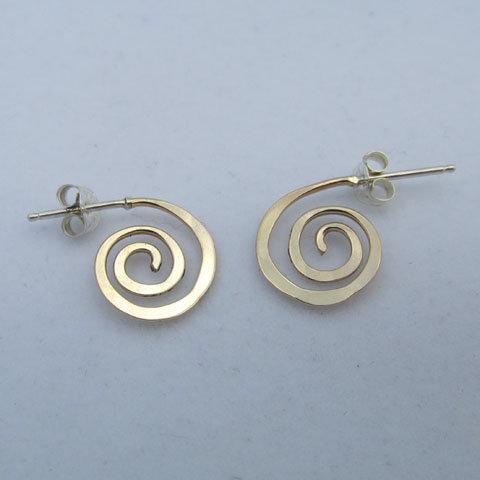 D74  Small spiral hoop