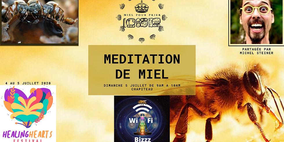 Meditation de Miel au Healing Heart Festival 2020