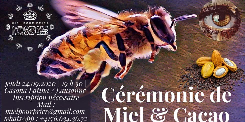 Cérémonie d'initiation Miel & Cacao