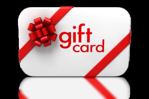 Promoción Tarjeta regalo / Gift card reproducción 3D