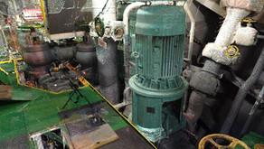 BWTS Laser scanning Engine room & pump room. General cargo vessel 28236 t