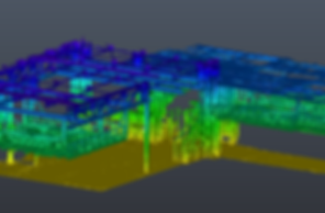 Digitalization of industrial facilities - Point Cloud - BIM (Building Information Modeling)
