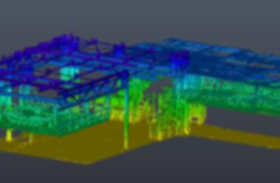 Digitalization of industrial facilities - Point Cloud - BIM (Building Information Modeling)