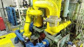 Engine & Pump Room laser scanning for BTWS Retrofit of Oil/Chemical Tanker vessel 6044t