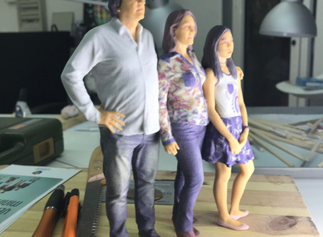LABS 3D: Retratos a escala