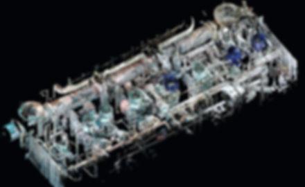 Escaneo láser 3D de instalaciones industriales, Escaneo 3D Industria, tuberías, bombas, calderas. España, Algeciras, Barcelona, Valencia, Vigo, Santander, Tánger, Ingeniería Industrial