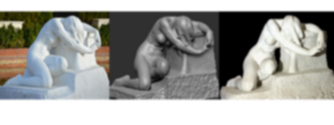 Escaneo 3D y reproducción esculturas, impresión 3D, Barcelona