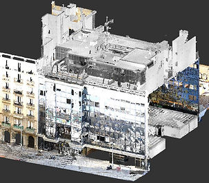 Point Cloud to ArchiCAD, laser scanning, BIM, laser scanner, Barcelona, ​​3D scanning, Spain