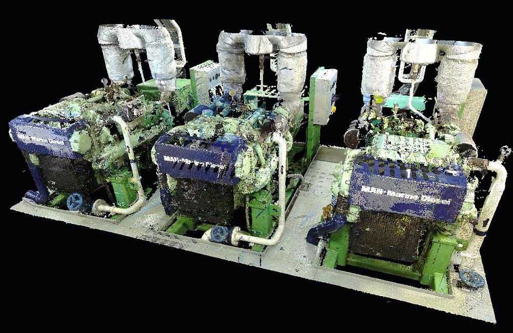 Marine laser scanninng for BTWS Retrofit - Europe, Spain, Malta, Germany, Turkey, Portugal, Gibraltar