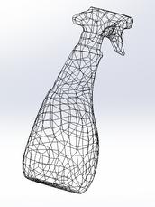 Parameterized 3D model initial