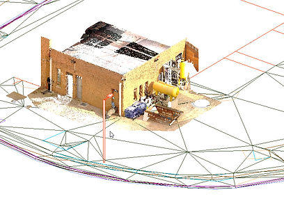 Point Cloud, Revit, Georeferencing, Laser Scanning, Spain, BIM