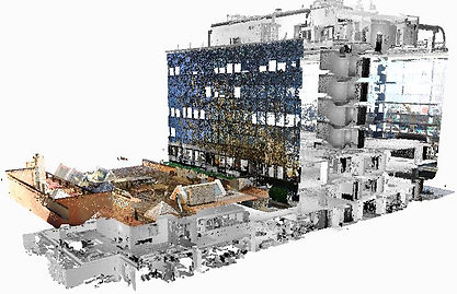Definitive model Scan to ArchiCAD, Scan to Archicad, Scan to BIM (Building information modeling), Spain, Portugal, Germany, Italy, Malta, Turkey, Europe
