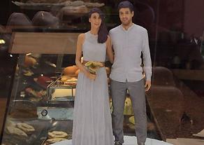 Novios 3D, Tartas de matrimonio personalizadas, figuras de novios para tartas