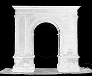 Nube de puntos arco romano de Bará, escáner láser 3D, BIM (Building Information Modeling), Diseño CAD 3D, Escaneo 3D Edificios, Autodesk Revit, Archicad, Escaneo laser, Ingenieria inversa, Arquitectura, ingenieria, Madrid, Barcelona, Valencia, Zaragoza, España