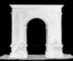Bará Roman arch point cloud, 3D laser scanner, BIM (Building Information Modeling), 3D CAD design, BIM (Building Information Modeling)