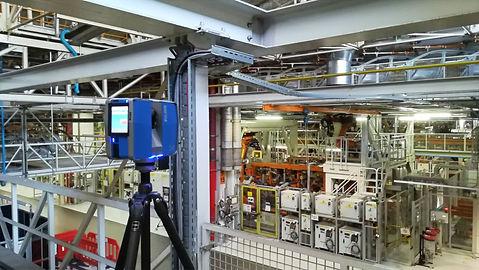 Escaneig 3D d'instal·lacions industrials, BIM, Enginyeria inversa, Barcelona, Núvol de punts