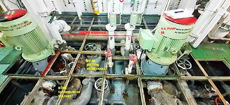 BWTS Ballast System laser scanning survey