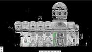 Nube de puntos Basílica de la Merced (Barcelona), escáner láser 3D, BIM (Building Information Modeling), Diseño CAD 3D, Escaneo 3D Edificios, Autodesk Revit, Archicad, Escaneo laser, Ingenieria inversa, Arquitectura, ingenieria, Madrid, Barcelona, Valencia, Zaragoza, España