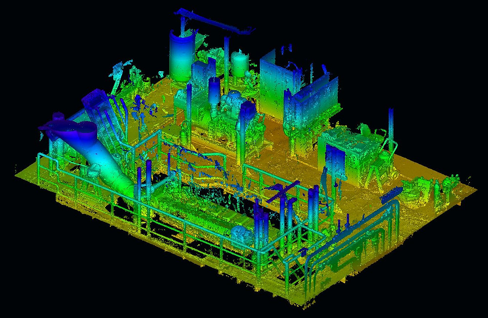 Marine 3D Laser scanning and survey - Ballast water treatment systems (BWTS)