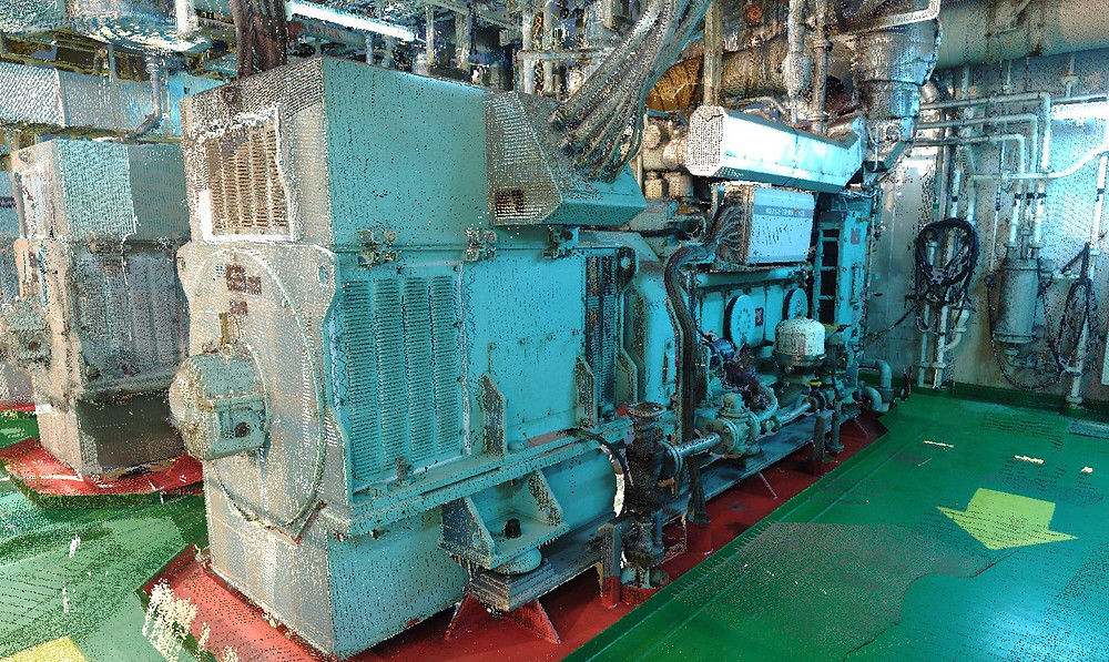 Naval Laser scanning - Ballast water treatment system (BWTS) - Spain, Italy, Turkey, Malta, France, Gibraltar, Barcelona