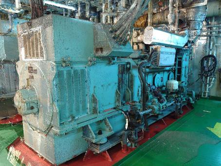 Marine laser scanning for BWTS (Ballast water treatment system) - Bulk Carrier Ship 81398 t retrofit