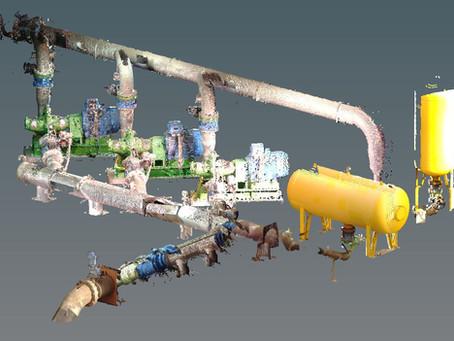 Escaneo Láser 3D: Digitalización instalaciones industriales para actualizaciones. Barcelona - España