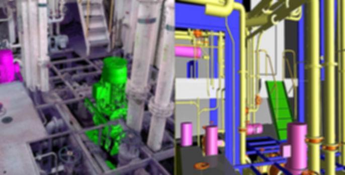 3D Laser scanning of BWT (Ballast Water Treatment)