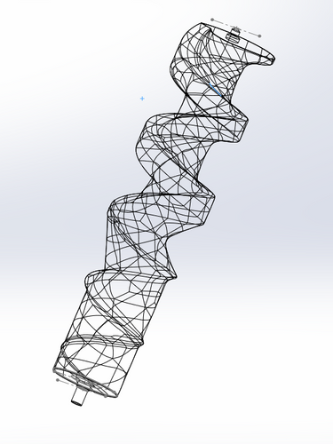 Parameterized 3D model (First)