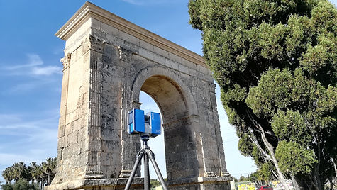 3D laser scanning, 3D scanning of heritage elements,BIM (Building Information Modeling)