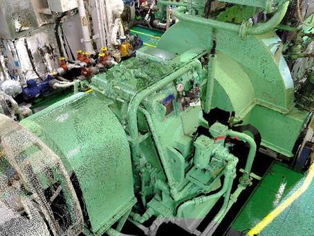 Marine Laser Scanning Engine Room General Cargo Vessel 6801 t for BWTS for Retrofit - Europe